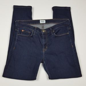 Hudson Nico Super Skinny Mid Rise Crop Jeans